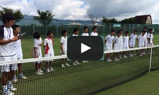 The 1st Grass Hopper Junior Training Camp boys' team competition in Aug. 2015